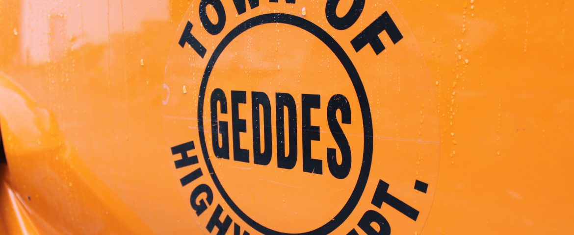Geddes Highway Department